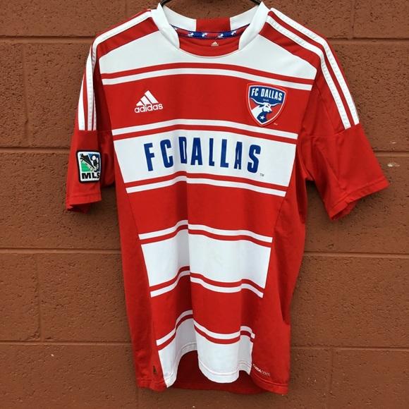 detailed look 6f328 48054 Adidas FC Dallas MLS soccer jersey